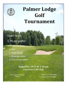 Palmer Lodge Golf Tournament