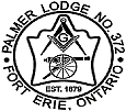Palmer Lodge - Flagship of Niagara B District Logo