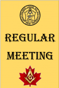 Palmer Lodge Regular meeting
